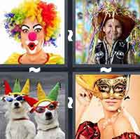 4 Pics 1 Word level 1-8 7 Letters