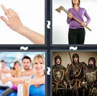 4 Pics 1 Word level 2-12 3 Letters