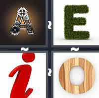 4 Pics 1 Word level 2-1 6 Letters