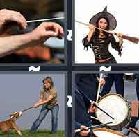 4 Pics 1 Word level 3-4 5 Letters