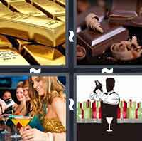 4 Pics 1 Word level 3-3 3 Letters