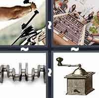 4 Pics 1 Word level 3-9 5 Letters