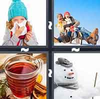 4 Pics 1 Word level 2-3 6 Letters