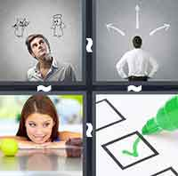 4 Pics 1 Word level 2-4 6 Letters