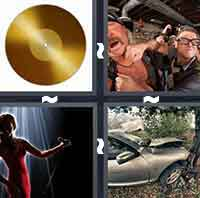 4 Pics 1 Word level 3-5 3 Letters