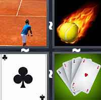 4 Pics 1 Word level 3-6 3 Letters
