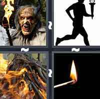 4 Pics 1 Word level 195