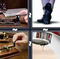 4 Pics 1 Word level 3-10 3 Letters