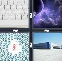 4 Pics 1 Word level 4-14 5 Letters