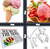 4 Pics 1 Word level 5-1 5 Letters