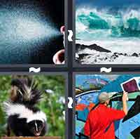 4 Pics 1 Word level 5-6 5 Letters