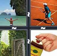 4 Pics 1 Word level 254