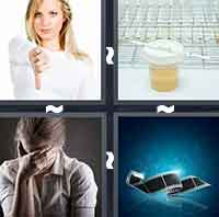 4 Pics 1 Word level 1-6 8 Letters