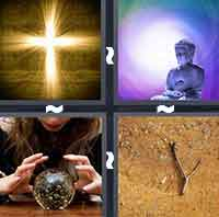 4 Pics 1 Word level 3-6 6 Letters