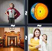 4 Pics 1 Word level 3-9 6 Letters