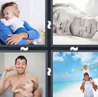 4 Pics 1 Word level 4-3 6 Letters
