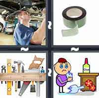 4 Pics 1 Word level 4-5 6 Letters