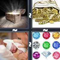 4 Pics 1 Word level 2-3 8 Letters