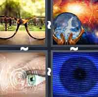 4 Pics 1 Word level 4-13 6 Letters