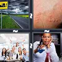 4 Pics 1 Word level 410