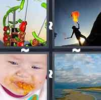4 Pics 1 Word level 418