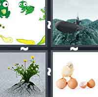 4 Pics 1 Word level 5-12 6 Letters
