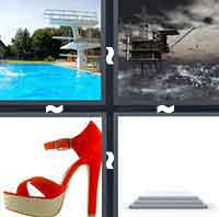 4 Pics 1 Word level 3-2 8 Letters