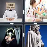 4 Pics 1 Word level 3-3 8 Letters
