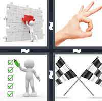 4 Pics 1 Word level 3-4 8 Letters