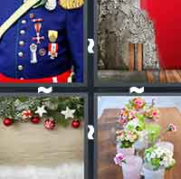 4 Pics 1 Word level 3-5 8 Letters