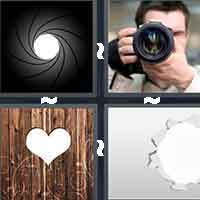 4 Pics 1 Word level 3-12 8 Letters