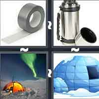 4 Pics 1 Word level 3-14 8 Letters