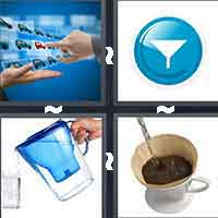 4 Pics 1 Word level 7-1 6 Letters