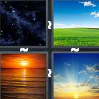 4 Pics 1 Word level 4-2 3 Letters