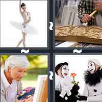 4 Pics 1 Word level 4-3 3 Letters