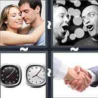 4 Pics 1 Word level 7-9 6 Letters