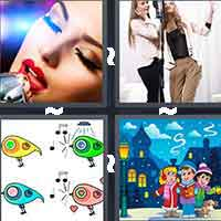 4 Pics 1 Word level 6-7 7 Letters
