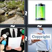 4 Pics 1 Word level 7-10 6 Letters