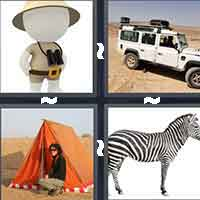 4 Pics 1 Word level 7-14 6 Letters