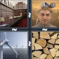 4 Pics 1 Word level 4-13 8 Letters