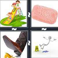 4 Pics 1 Word level 4-14 8 Letters