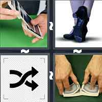 4 Pics 1 Word level 7-13 7 Letters