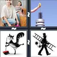 4 Pics 1 Word level 708