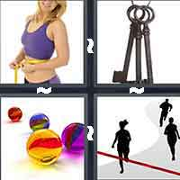 4 Pics 1 Word level 12-10 4 Letters
