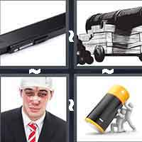 4 Pics 1 Word level 8-10 7 Letters