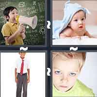 4 Pics 1 Word level 4-9 3 Letters