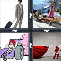 4 Pics 1 Word level 12-15 4 Letters