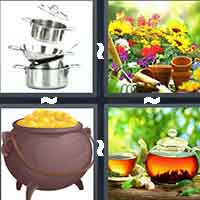 4 Pics 1 Word level 4-10 3 Letters