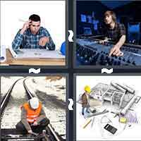 4 Pics 1 Word level 6-3 8 Letters