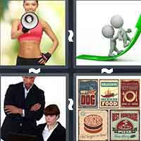 4 Pics 1 Word level 804